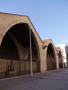 Fachada, atarazanas de Valencia