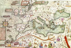 Mapa Abraham Cresques